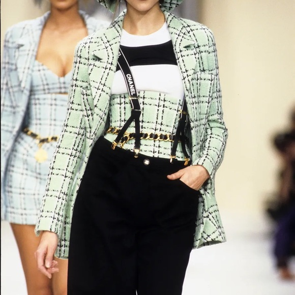 Chanel vintage 1994 spring tweed jacket